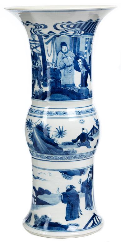 Kangxi-Flötenvase