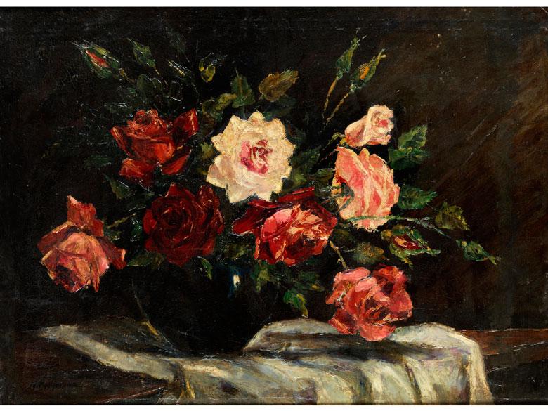Badjkova, russische Malerin des 20. Jahrhunderts