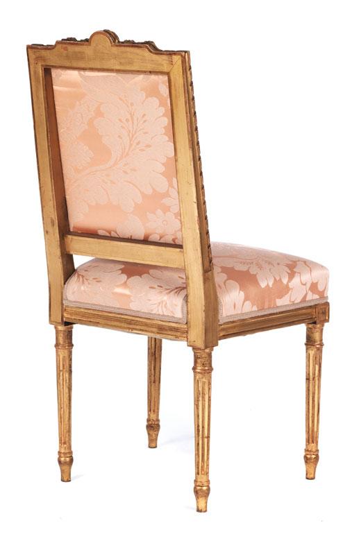 Paar Stühle Im Louis XVI Stil Hampel Fine Art Auctions