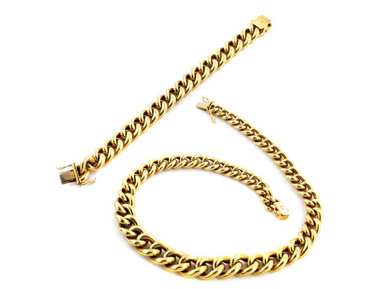 Collier und Armband
