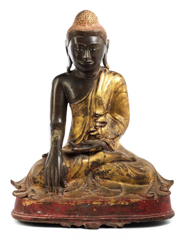 Buddha als Sieger über Mara