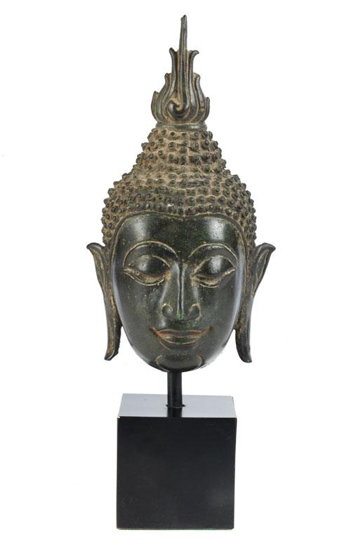 Thailändischer Buddhakopf