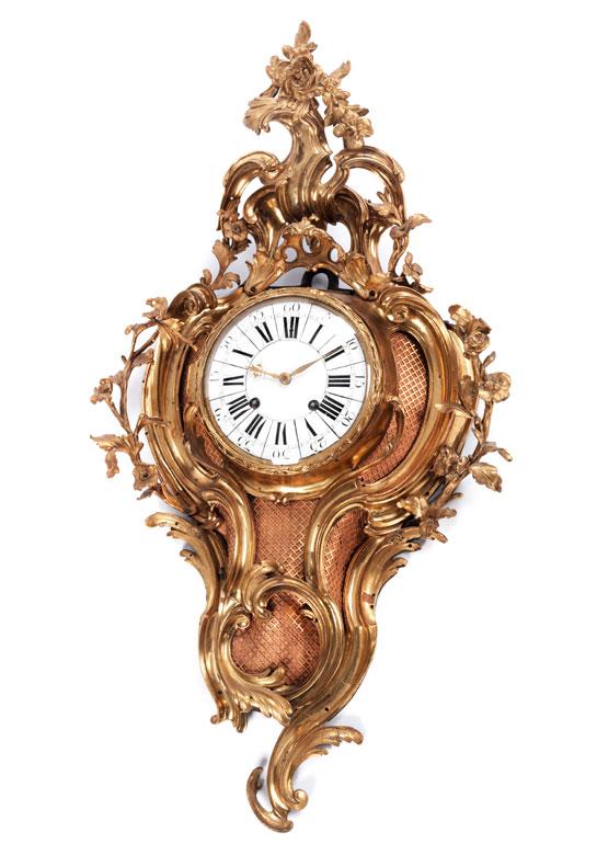 Außergewöhnlich große Kartell-Uhr