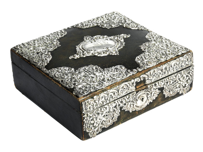Viktorianische Schmuckschatulle