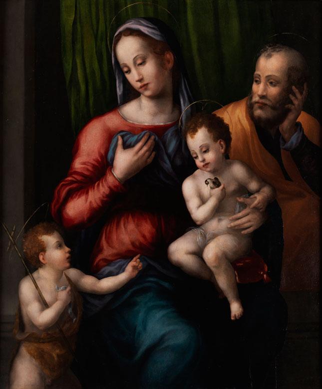 """""""Maestro di Serumido"""", Florenz, aktiv in den ersten dreißig Jahren des 16. Jahrhunderts, zug."""
