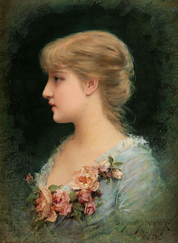 Emile Eisman-Semenowsky, 1857 - 1911