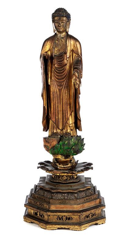 Japanische Amida Skulptur