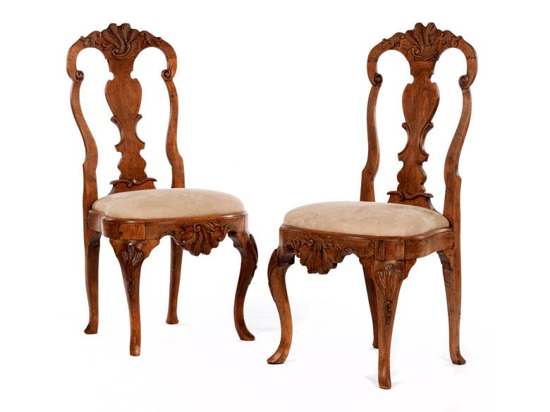 Paar Barock-Stühle