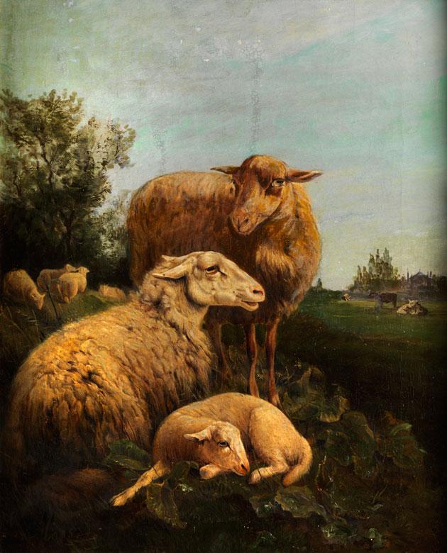 Jan Baptist Lodewijk Maes, 1794 Gent - 1856 Rom