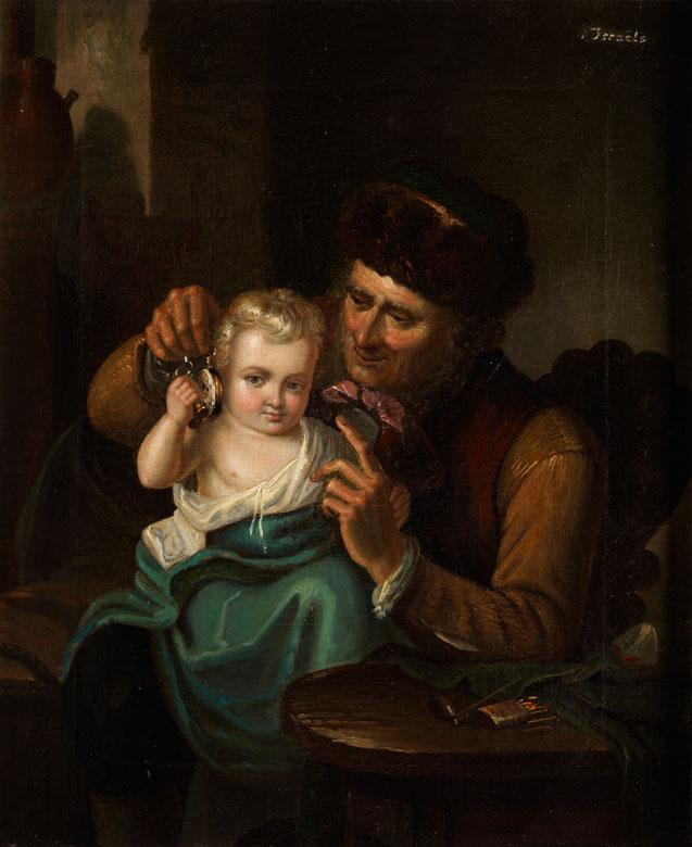 Genremalerei 19. jahrhundert  Genremaler des 19. Jahrhunderts Auction