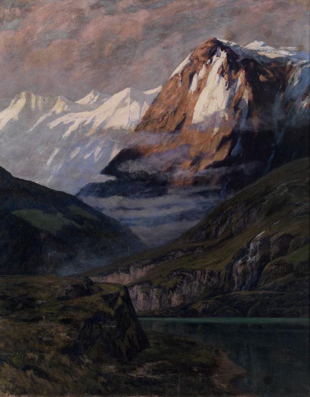 Walter Leistikow, 1865 Bromberg (heute Polen) - 1908 Schlachtensee