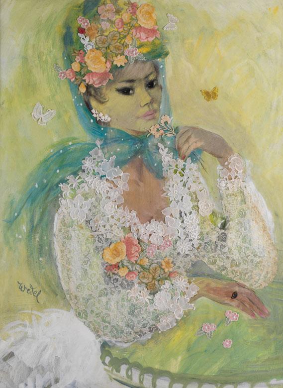Edda Baronin von Wedel, 1867 - 1934