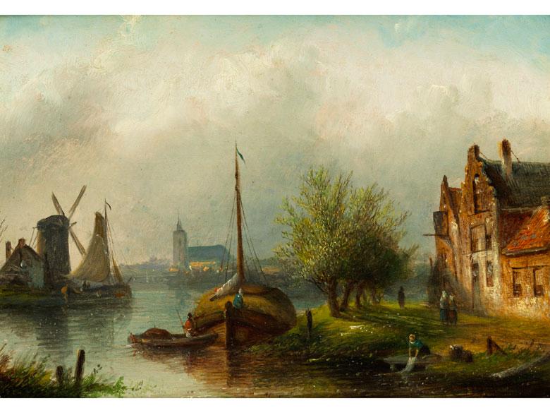 Jacob Jan Coenraad Spohler, 1837 Amsterdam - 1922 ebenda