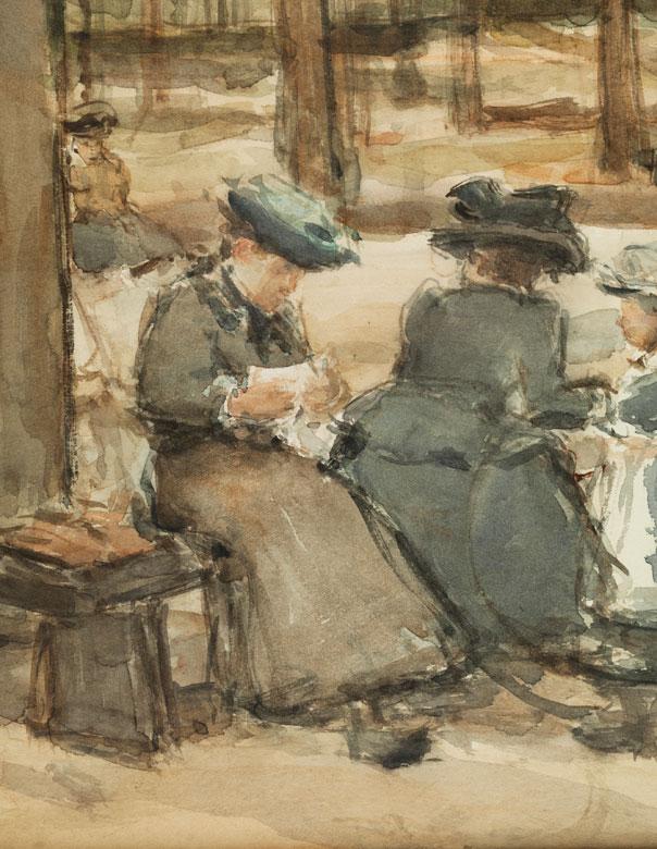 Isaac Lazarus Israels, 1865 Amsterdam - 1934 Den Haag Auktion