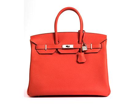 "Hermès Birkin Bag 35 cm ""Rouge Pivoine"""