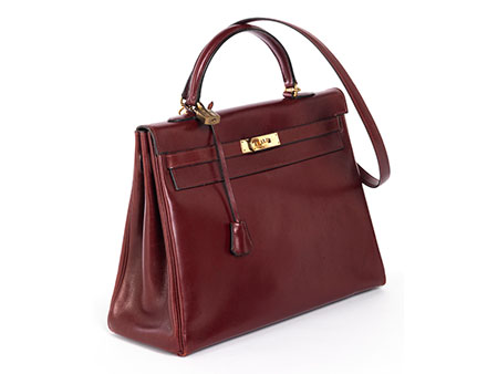 "Hermès Kelly Bag 35 cm ""Bordeaux"""