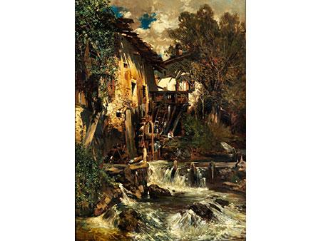 Carl Schuch, 1846 - 1903 München, Art des