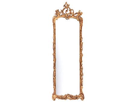 Eleganter Rokoko-Pfeilerspiegel