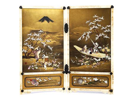 Shibayama-Stellschirm