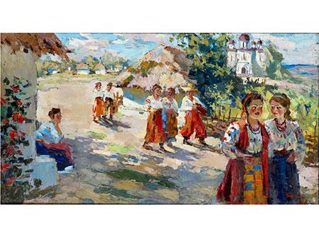 Schlegel,  russisch-ukrainischer Maler des 20. Jahrhunderts