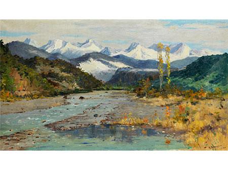 Brendel, russischer Künstler des 20. Jahrhunderts