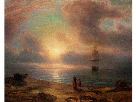 Russischer Maler des ausgehenden 19. Jahrhunderts