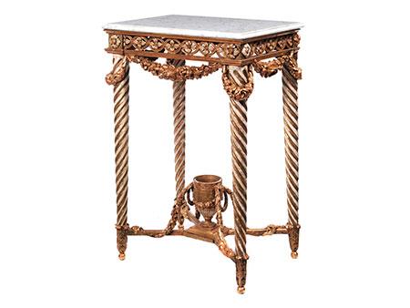Elegante kleine Konsole im Louis XVI-Stil