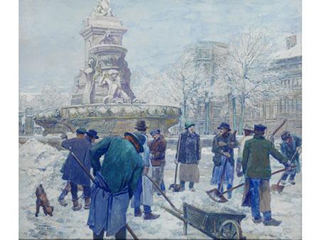 Frans Gailliard, 1861 Brüssel - 1932 Saint-Gilles, Brüssel