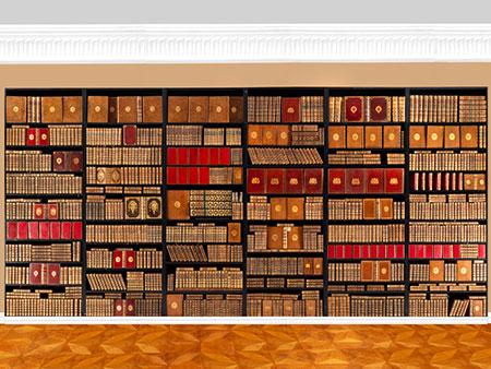 † Eine Bibliothek des 18. Jahrhunderts