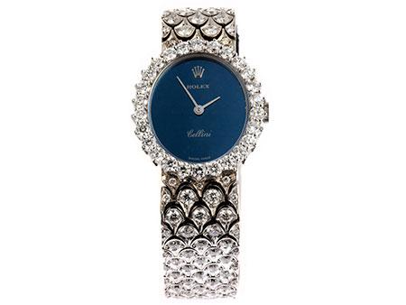 Brillant-Damenarmbanduhr von Rolex Rolex Cellini