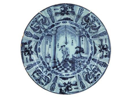 Große Delfter Platte