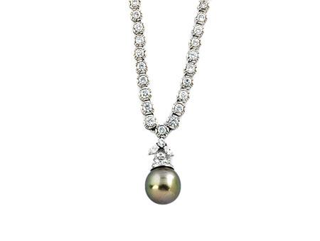 Diamant-Perlcollier