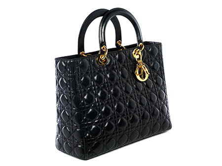 "Christian Dior Tasche ""Lady Dior"" Black"