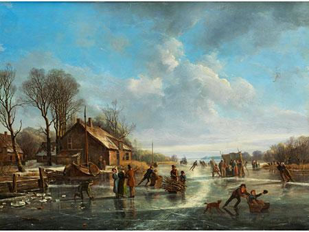 Frans Arnold Breuhaus de Groot, 1796 Leyden - 1875 Den Haag