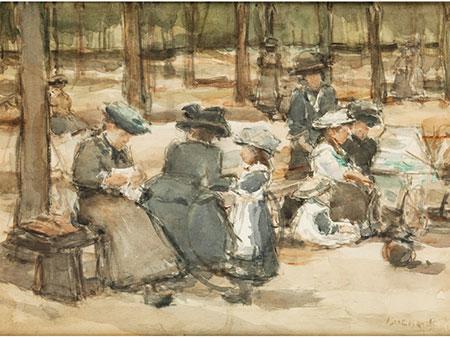 Isaac Lazarus Israels, 1865 Amsterdam - 1934 Den Haag