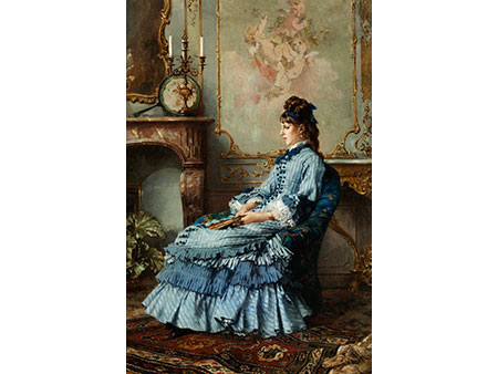 Frederick Hendrik Kaemmerer, 1839 Den Haag - 1902 Paris