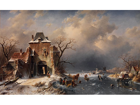 Charles Henri Joseph Leickert, 1816 Brüssel - 1907 Mainz