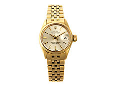 Elegante Damen-ROLEX in Gold