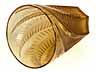 "Detail images:  Lalique-Becher ""Hesperides"""