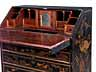 Detail images: Große Schreibkommode mit Chinoiserie-Lackdekor