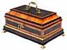 Detail images: Bedeutendes Schmuckkästchen aus der Roentgen-Werkstatt