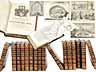 Detailabbildung: † Eine Bibliothek des 18. Jahrhunderts