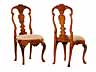 Detail images: Paar Barock-Stühle