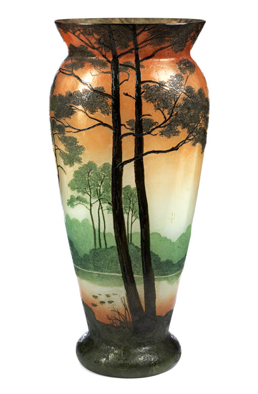 Große Legras-Vase
