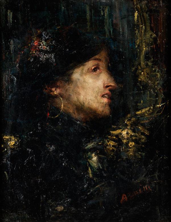 Antonio Mancini, 1852 Albano Laziale - 1930 Rom