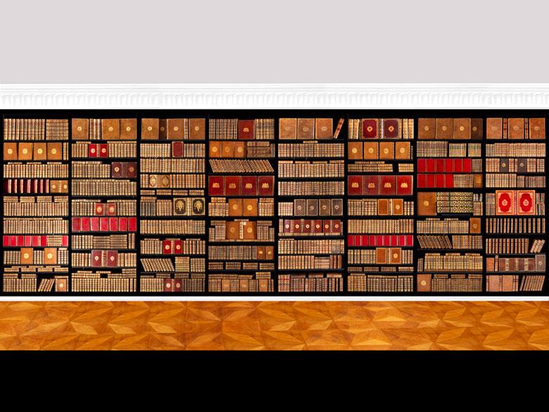 Eine Bibliothek des 18. Jahrhunderts