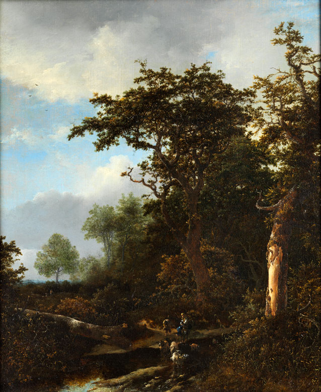 Jacob Isaakszoon van Ruisdael, um 1610 - 1652 Amsterdam und Jan Asselijn ?, 1628 Haarlem - 1682 Amsterdam