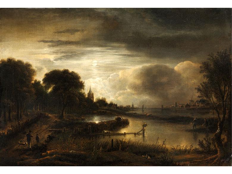 Aert van der Neer, 1603 Gorinchem - 1677 Amsterdam