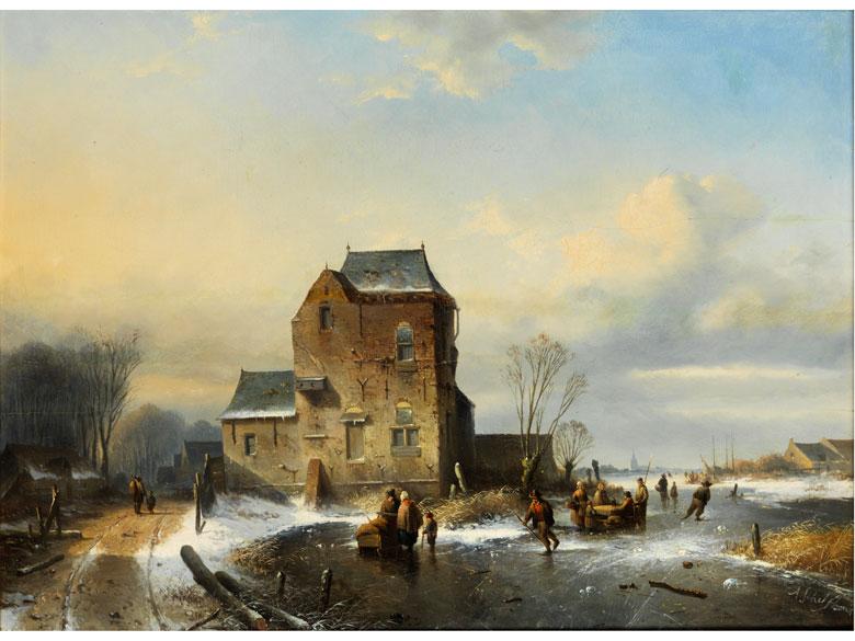 Andreas Schelfhout, 1787 Den Haag - 1870