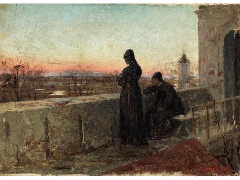 Abram Efimovich Arkhipov, 1862 Rjasan - 1930 Moskau